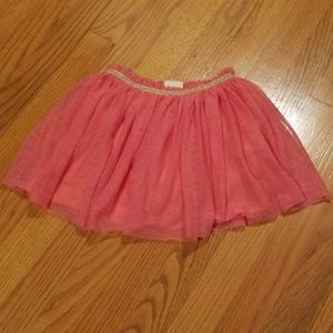 Zara Girls Pink Tulle Skirt Size 5 / 6